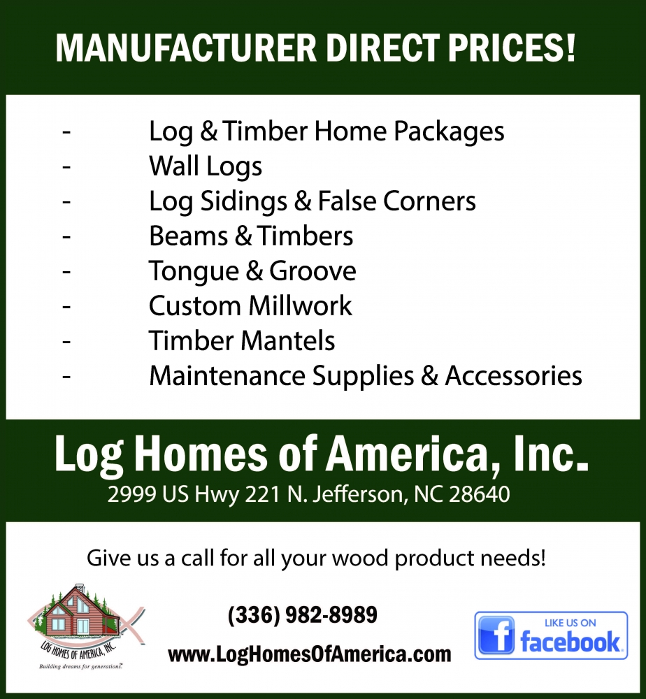 Log Homes of America