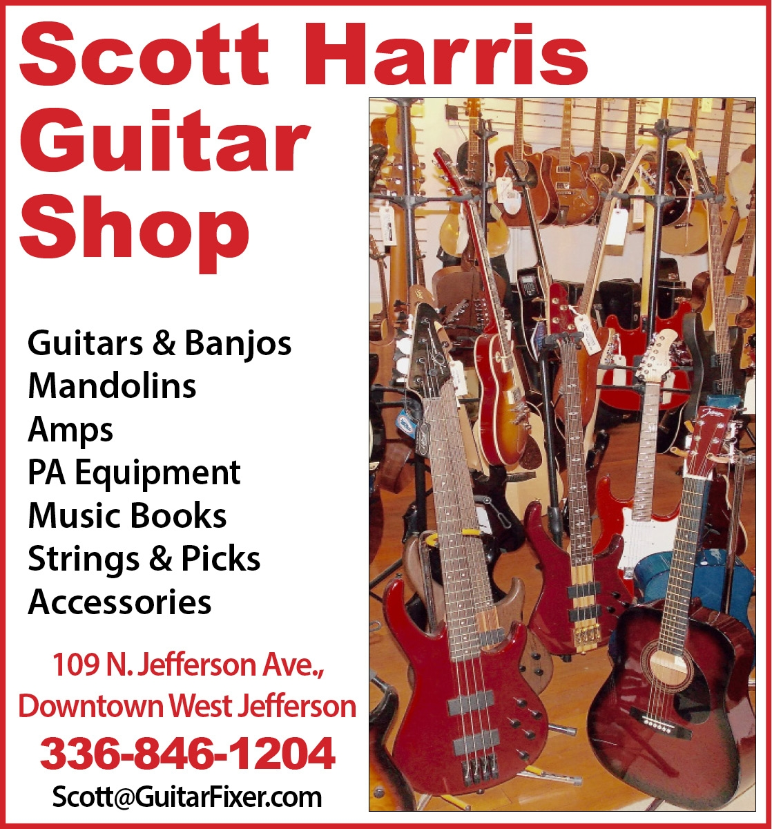 Scott Harris Guitar Shop